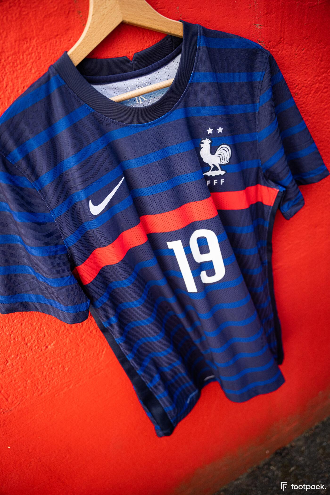 Maillot équipe de France Karim Benzema numéro 19
