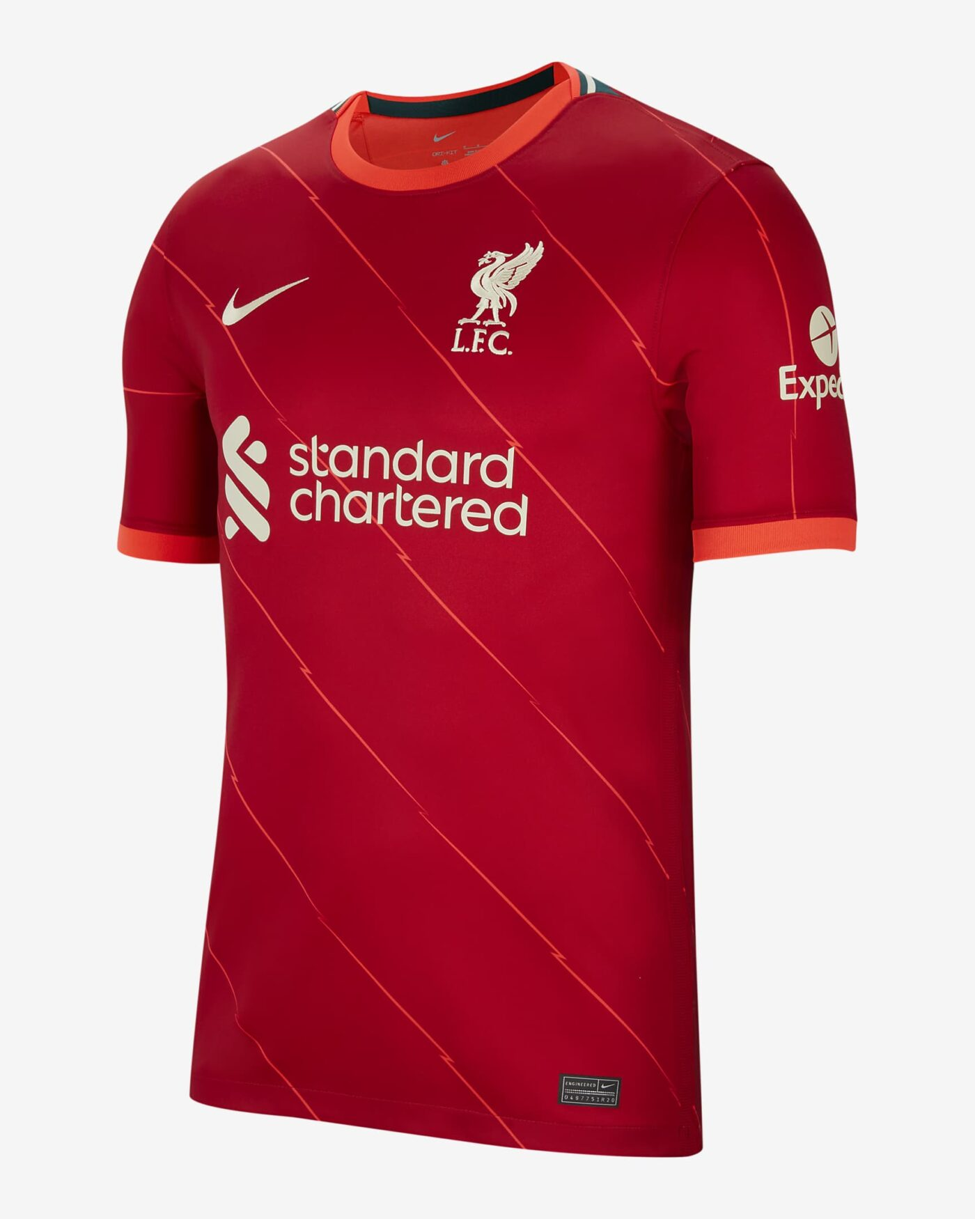 Maillot Liverpool 2021-2022 Nike