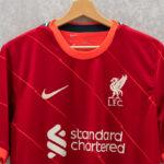 Les maillots de Liverpool 2021-2022 lancés par Nike