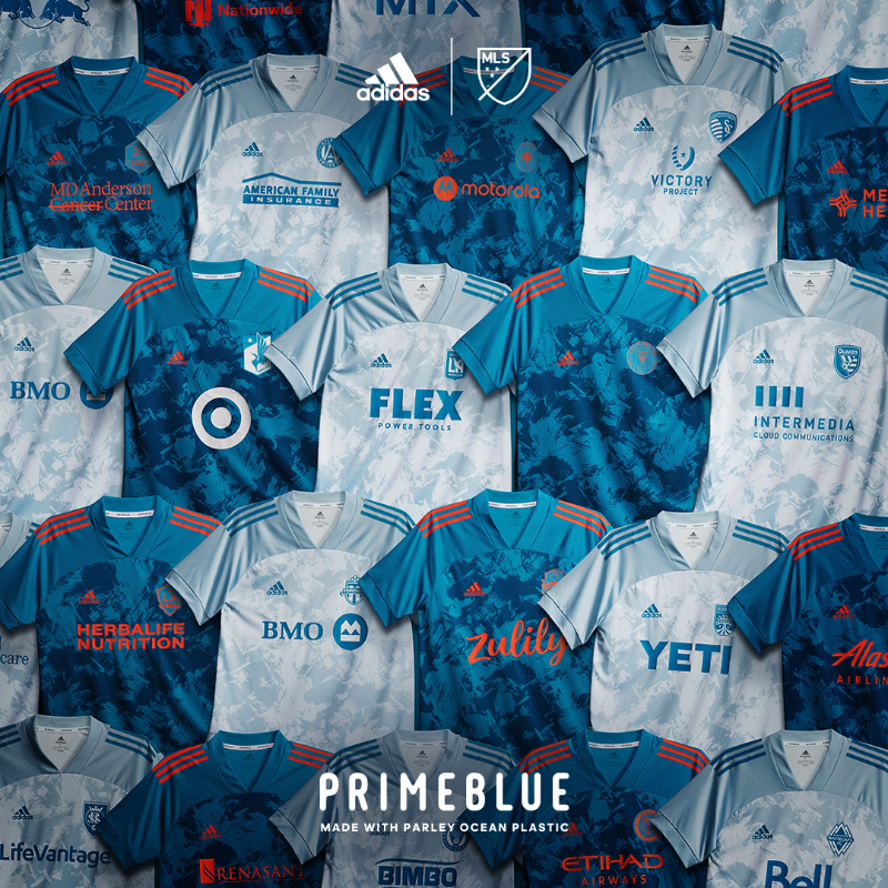 Maillot MLS PRIMEBLUE Parley For The Oceans