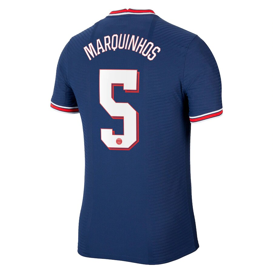 Flocage Marquinhos Champions League maillot PSG 2021-2022