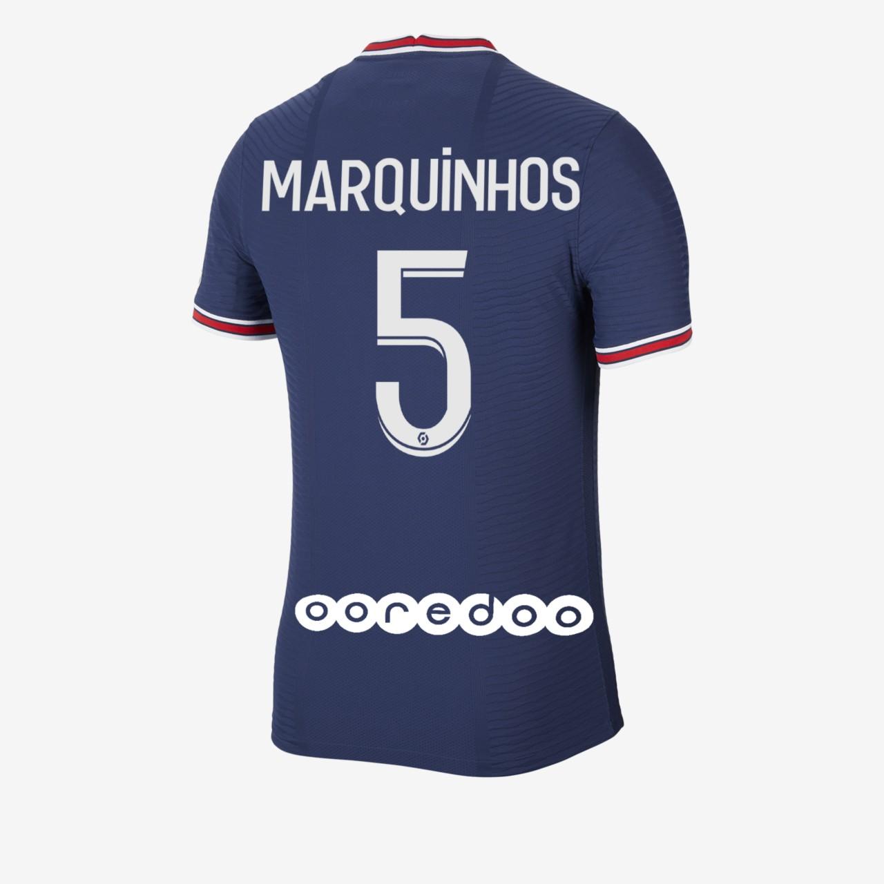 Maillot PSG flocage Marquinhos