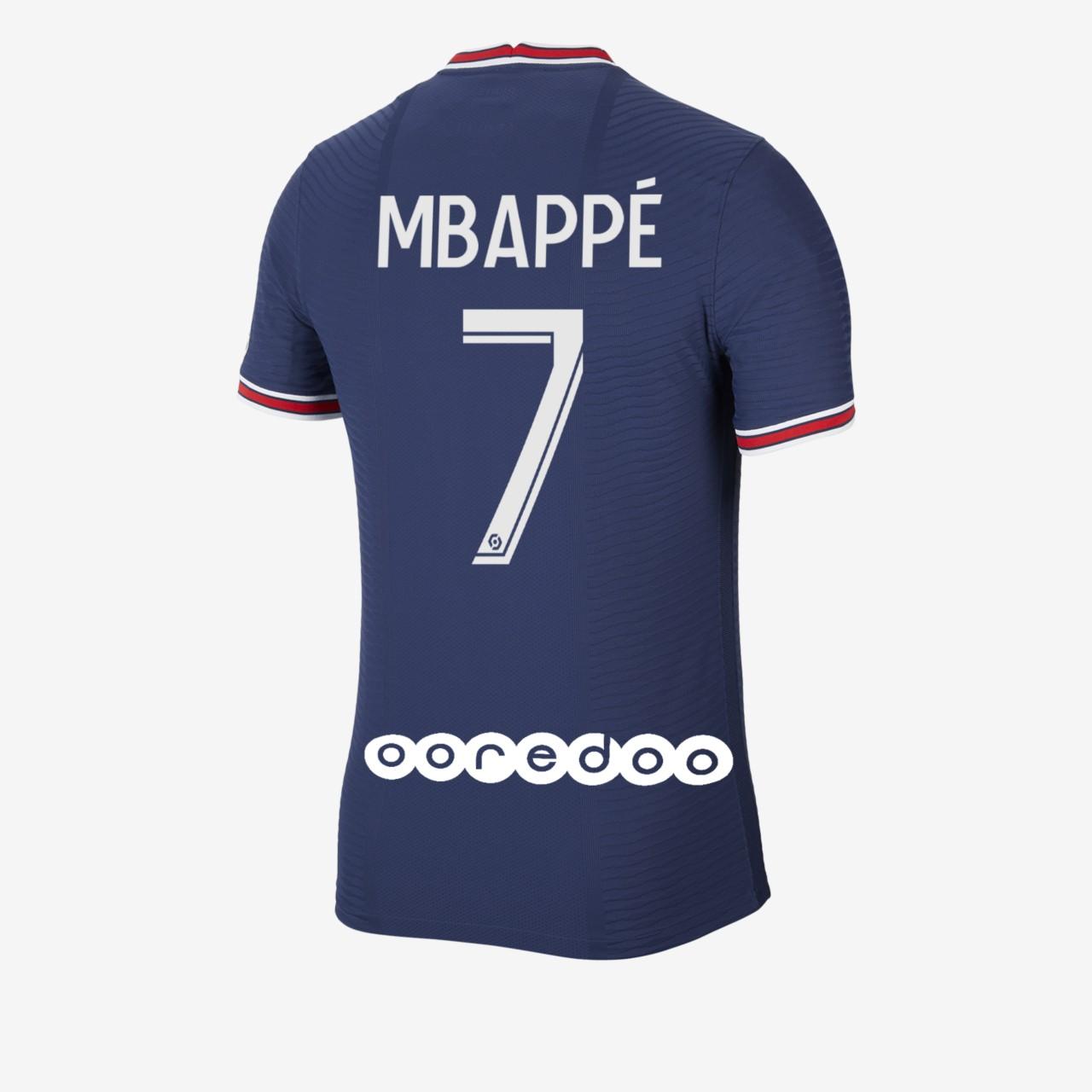 Maillot PSG flocage Mbappé