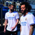 Les maillots du Real Madrid 2021-2022 présentés par adidas