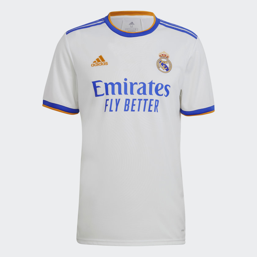 Maillot Real Madrid 2021-2022 domicile