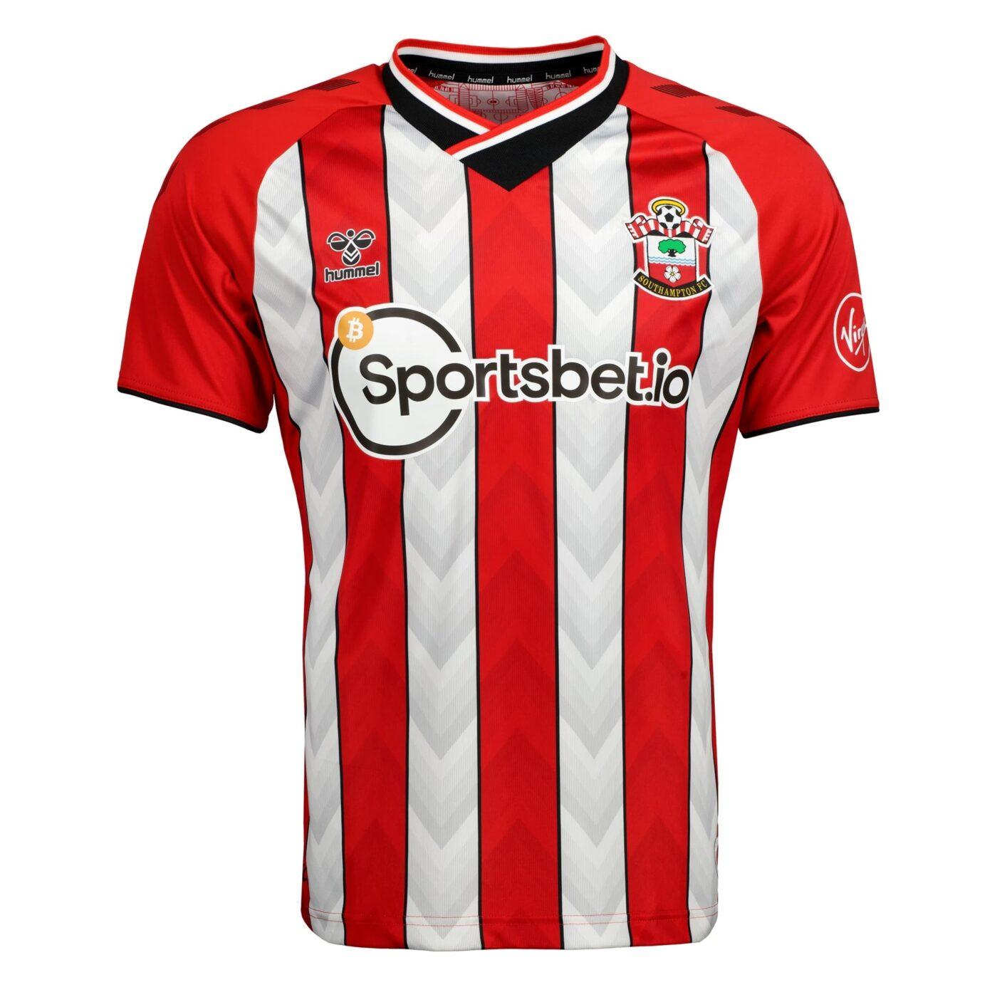 Maillot Southampton 2021-2022 domicile hummel