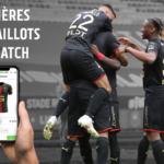 Les maillots de Rennes-PSG mis aux enchères!