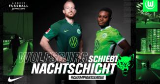 Image de l'article Les maillots de Wolfsbourg 2021-2022 révélés par Nike