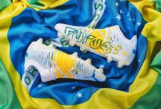 Image de l'article De nouveaux crampons pour Neymar, inspirés du Brésil!