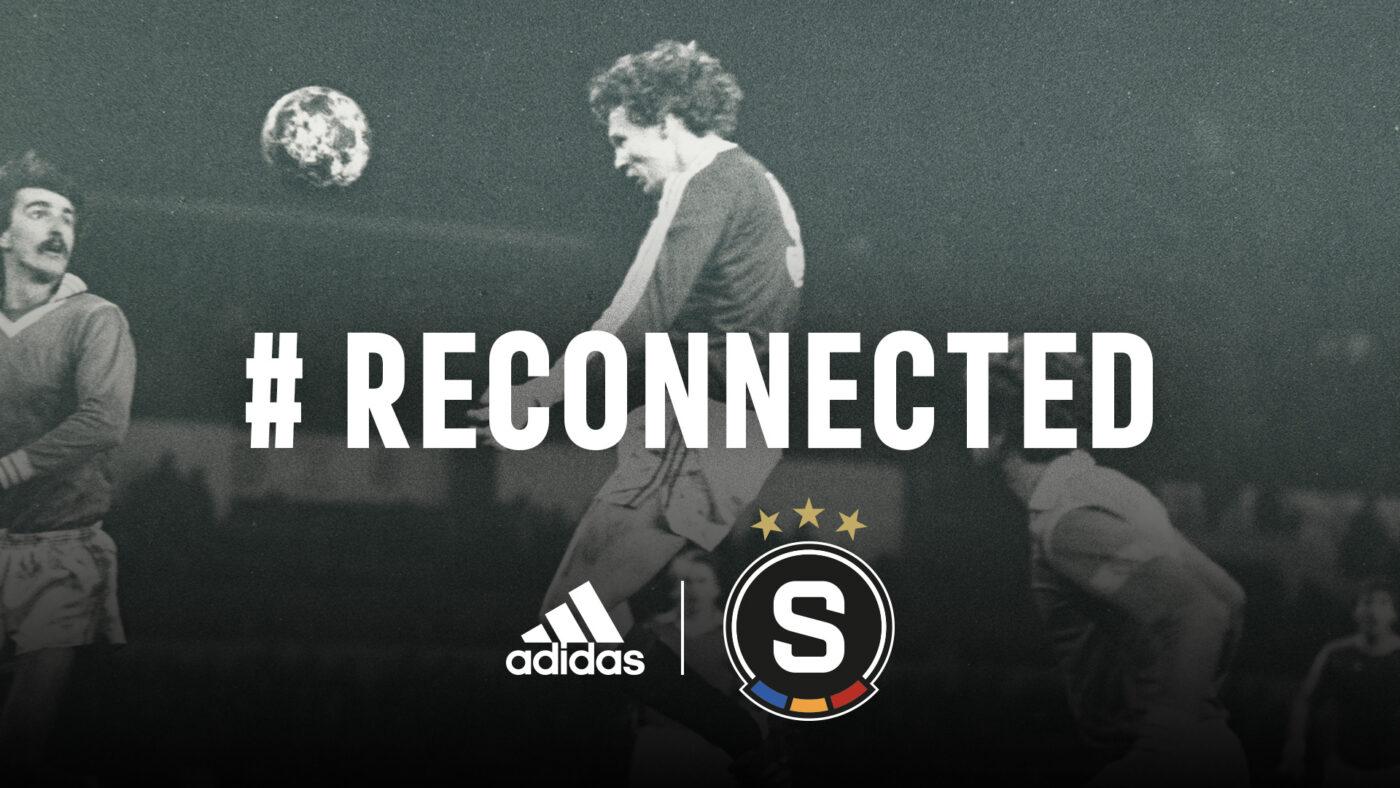 adidas équipementier du Sparta Prague