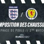 La composition de Angleterre – Écosse en crampons – Euro 2020