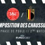 La composition de Danemark – Belgique en crampons – Euro 2020