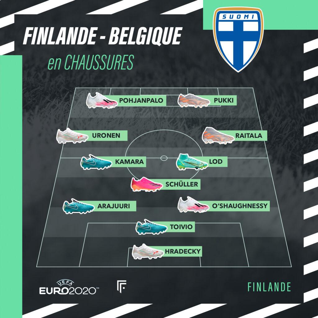 Compo Finlande-Belgique