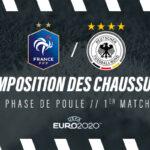 La composition de France – Allemagne en crampons – Euro 2020