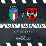 La composition de Italie – Autriche en crampons – Euro 2020