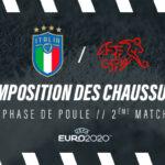La composition de Italie – Suisse en crampons – Euro 2020