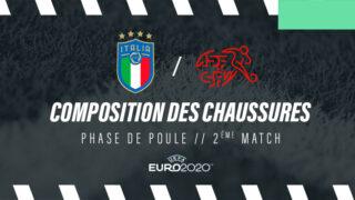 Image de l'article La composition de Italie – Suisse en crampons – Euro 2020