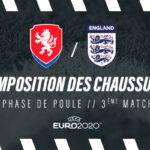 La composition de République Tchèque – Angleterre en crampons – Euro 2020