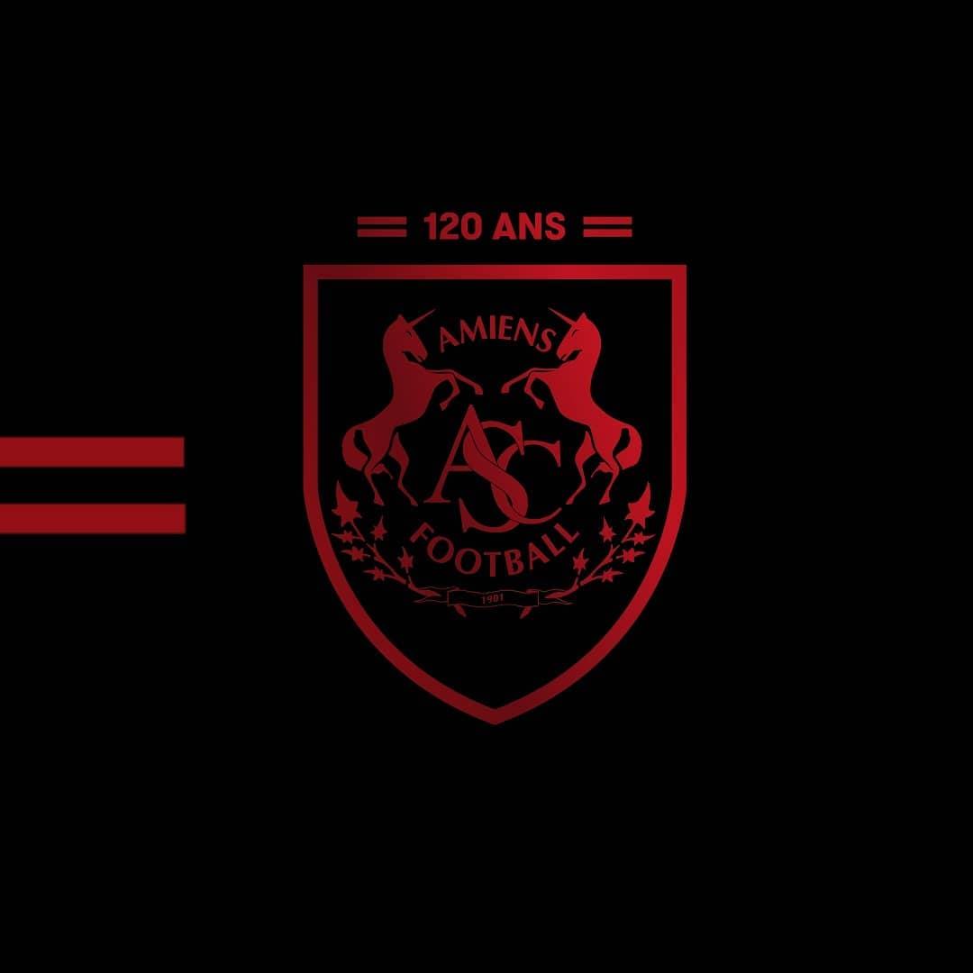Nouveau logo Amiens SC 120 ans