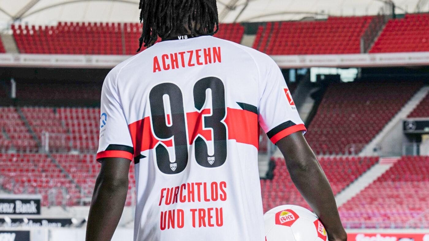 Maillot VfB Stuttgart 2021-2022 domicile Jako