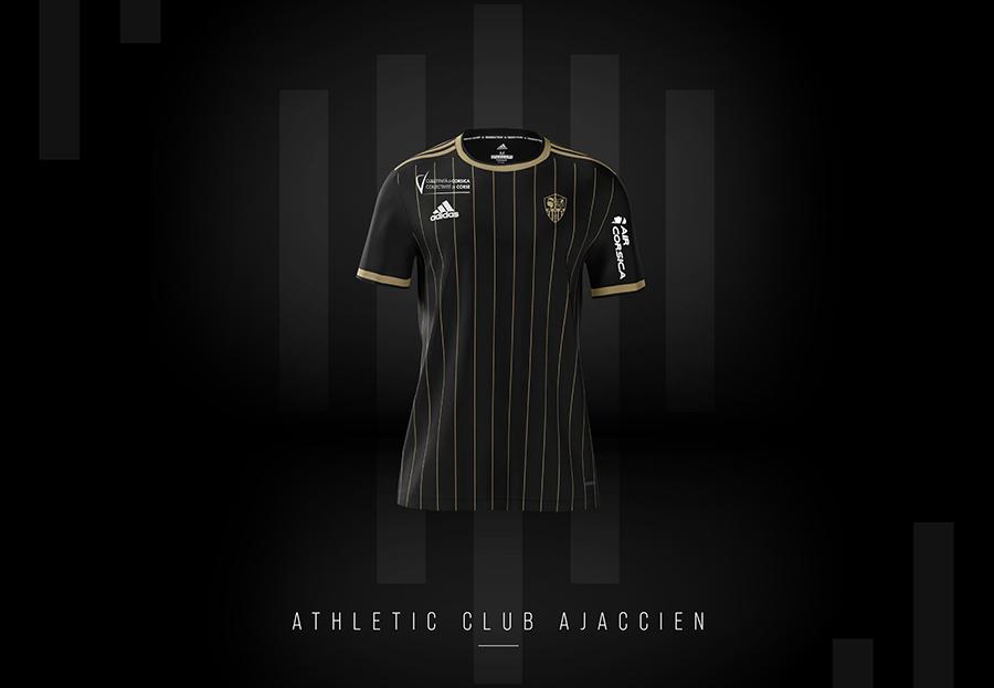 Maillot AC Ajaccio 2021-2022