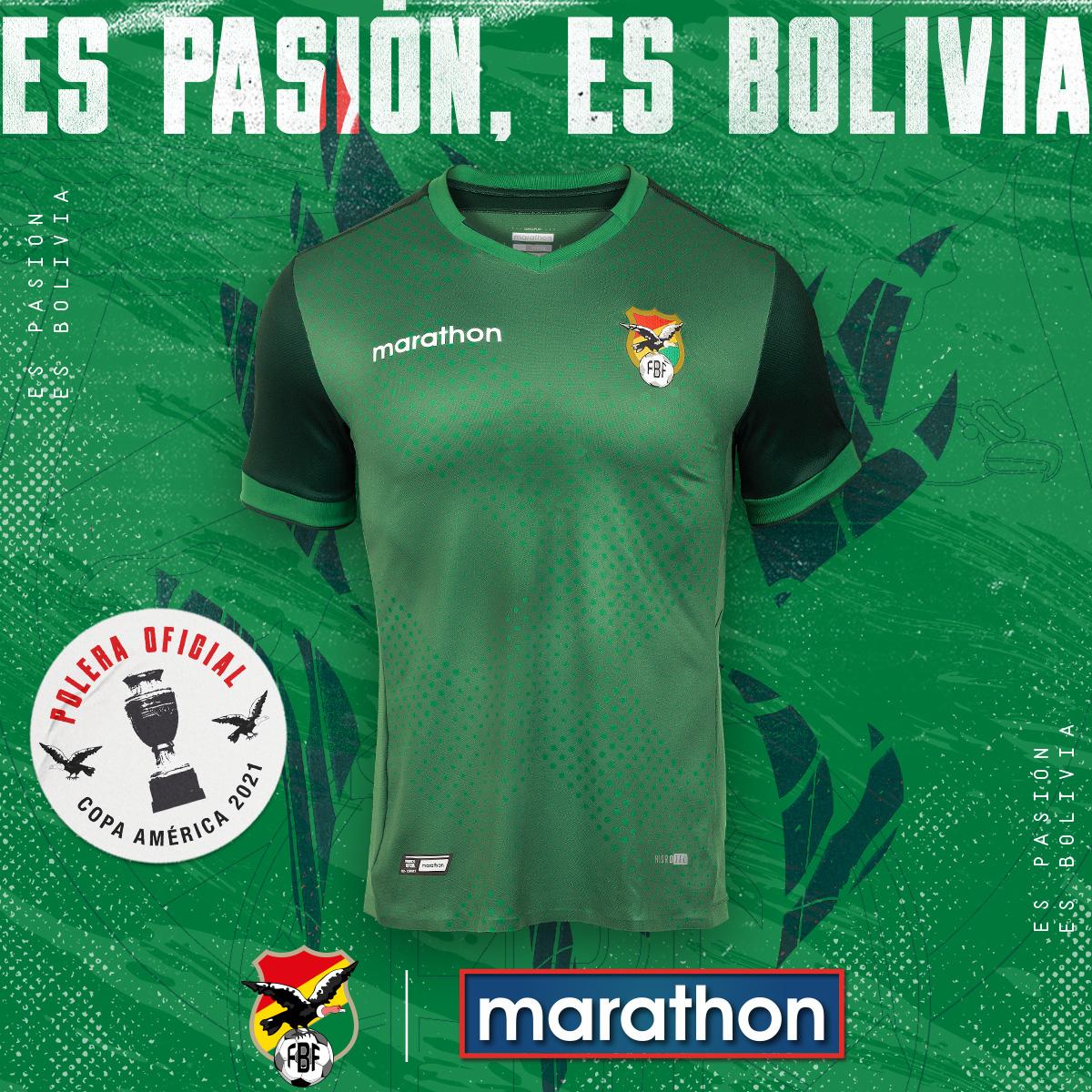 Maillot Bolivie domicile Copa America 2021