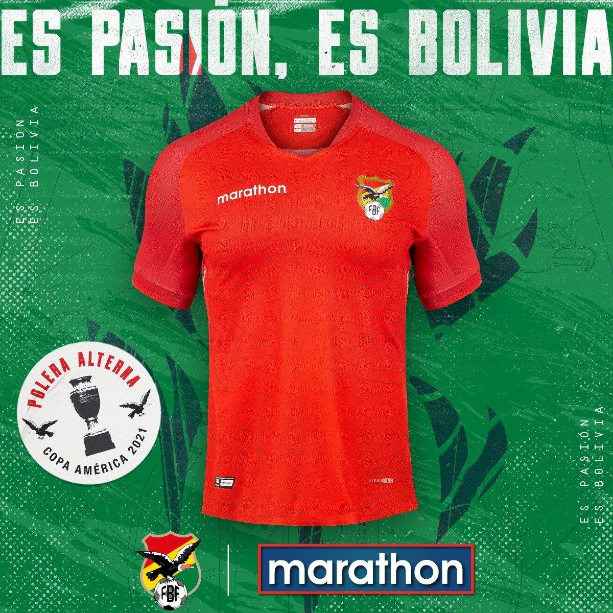 Maillot Bolivie extérieur Copa America 2021