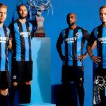 Les maillots du Club Bruges 2021-2022 lancés par Macron