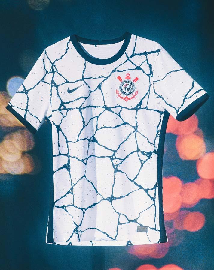 Maillot Corinthians 2021-2022 Nike domicile