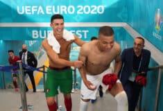 Image de l'article Gradur récupère les maillots de CR7 et Mbappé après Portugal-France !