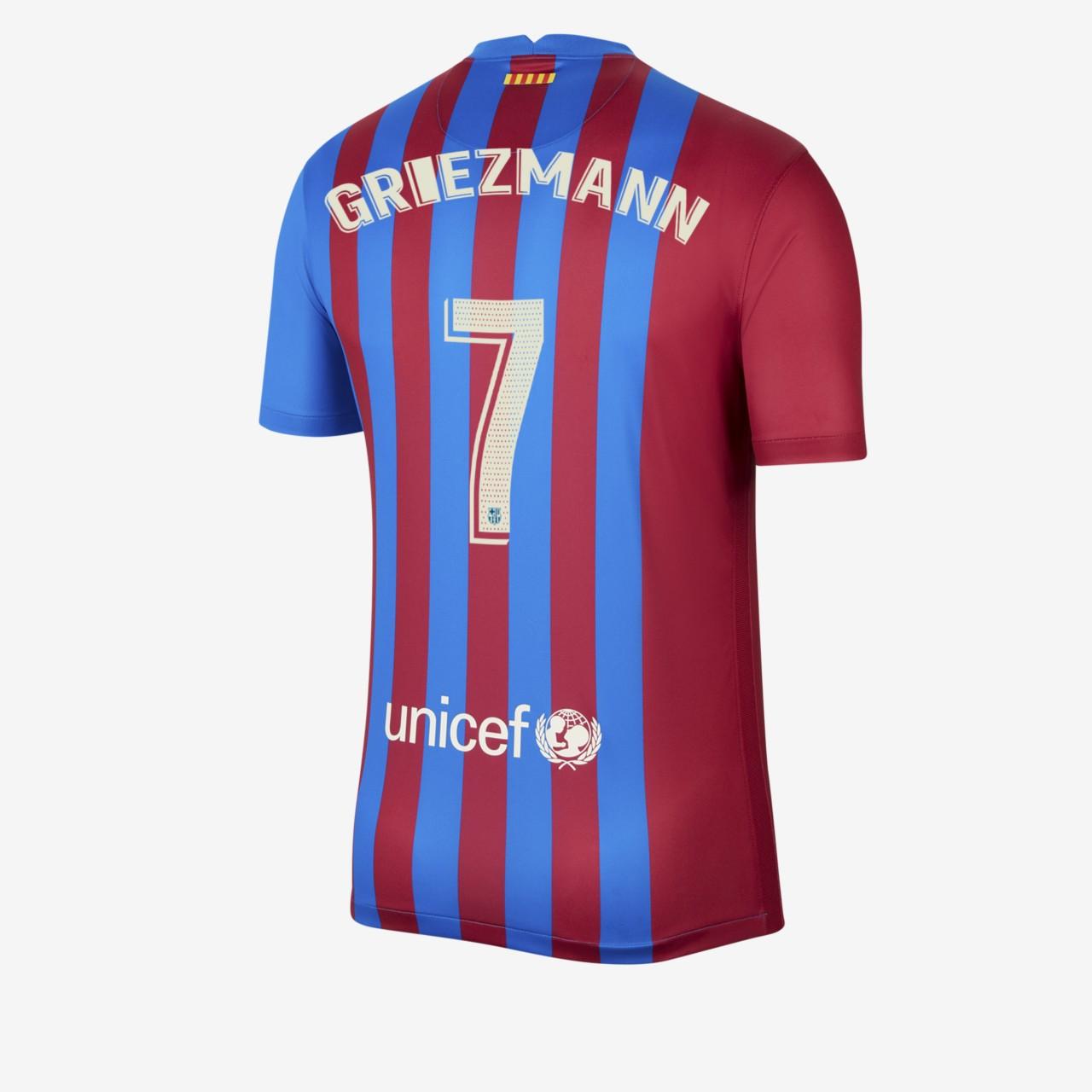 Flocage Griezmann maillot FC Barcelone 2021-2022
