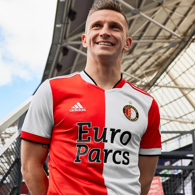 Maillot Feyenoord Rotterdam 2021-2022 domicile
