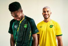 Image de l'article Umbro dévoile les maillots 2021 de la Jamaïque