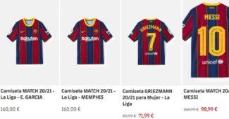 Image de l'article Le maillot de Memphis Depay déjà disponible sur la boutique du FC Barcelone!