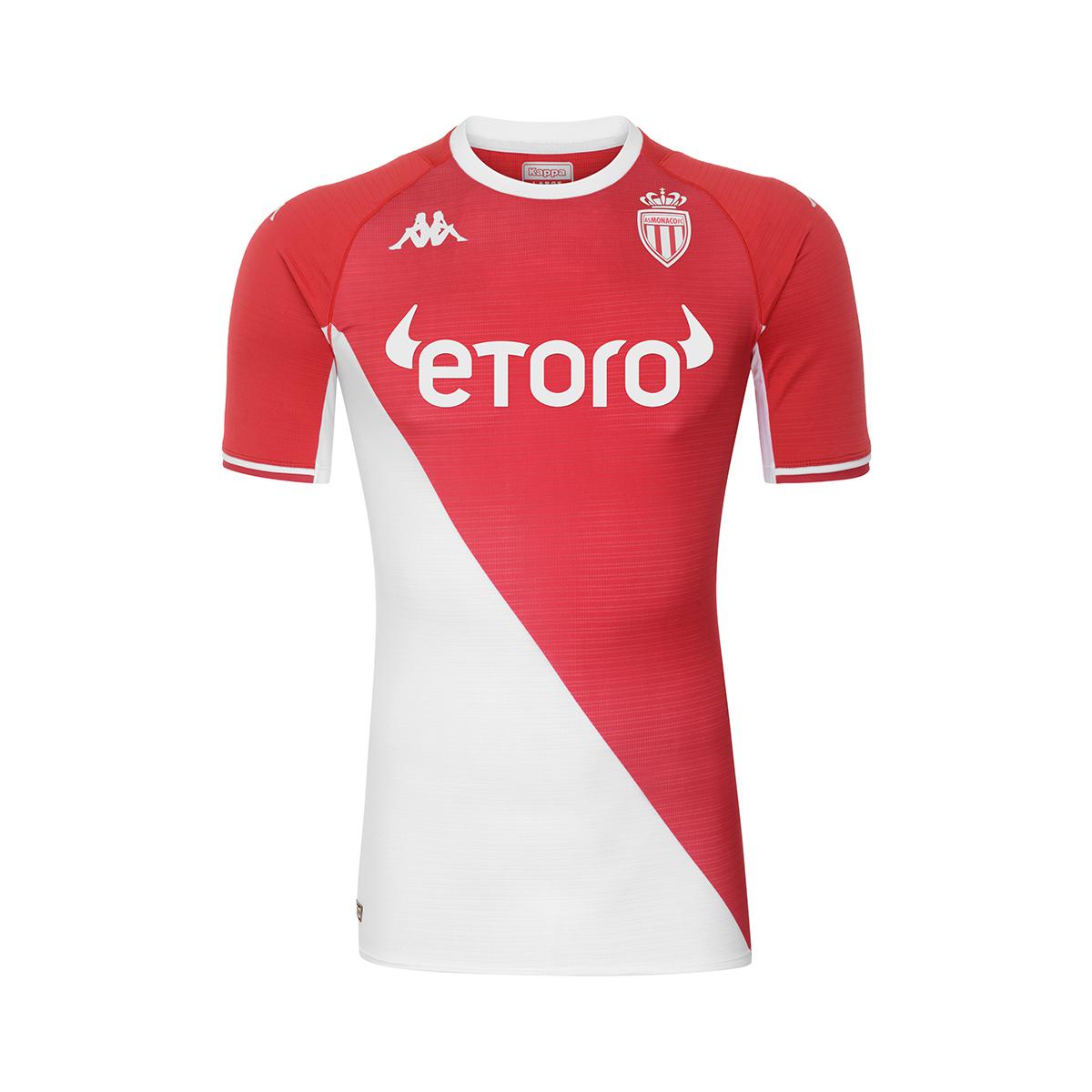 Maillot Monaco 2021-2022 Kappa