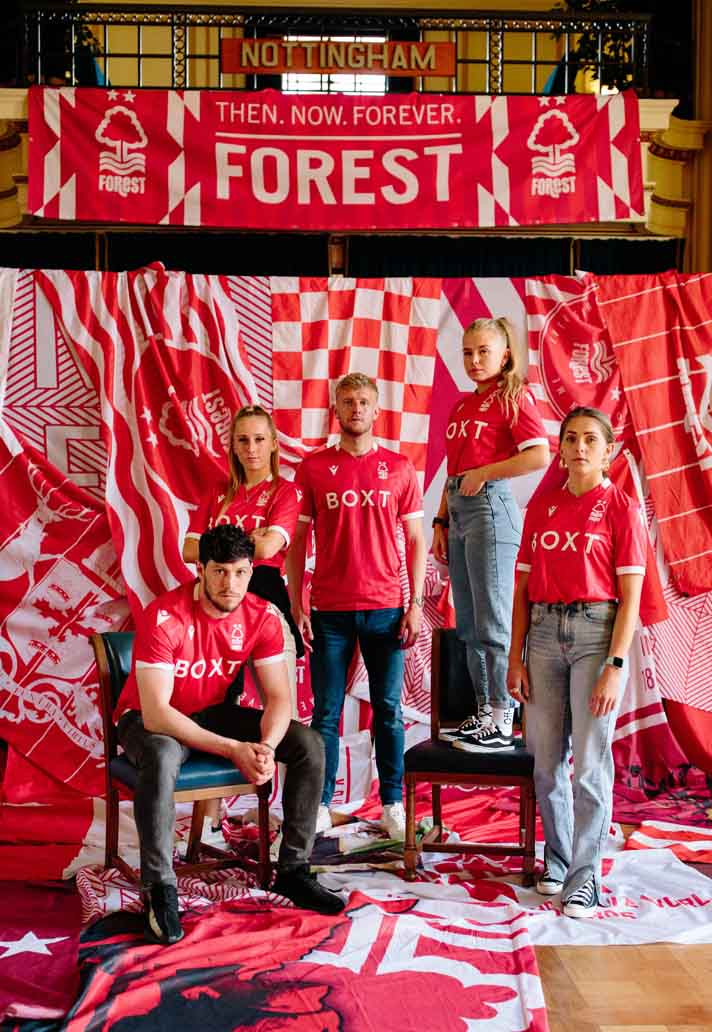 maillot notthingam forest domicile 2021 2022