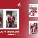 Les maillots de l'Olympiakos 2021-2022 dévoilés par adidas