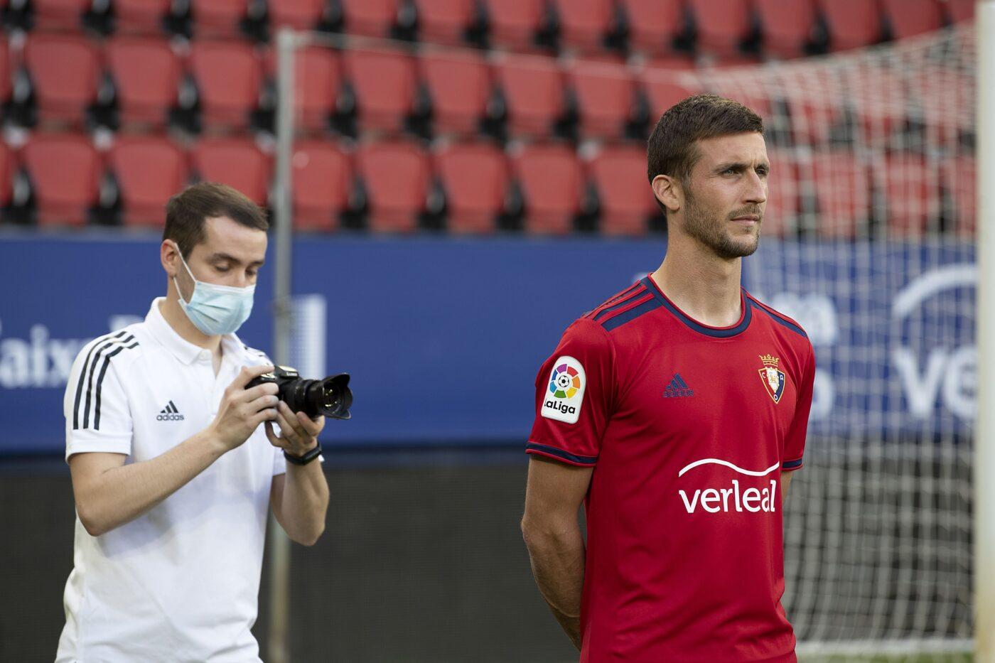 Maillot Osasuna 2021-2022 domicile