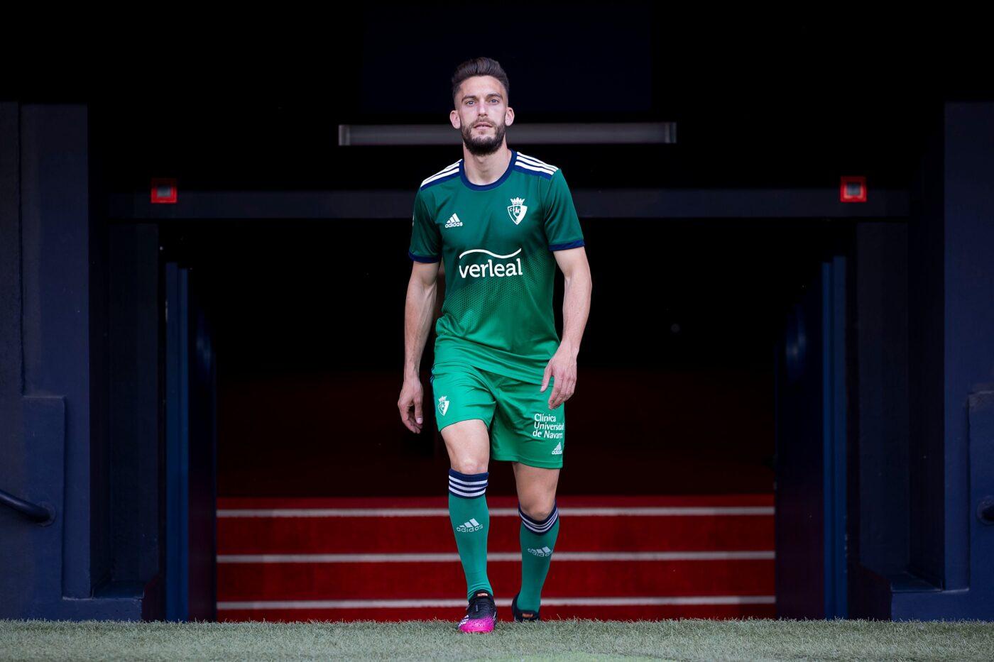 Maillot Osasuna 2021-2022 extérieur