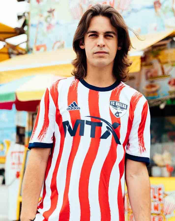 Maillot pré-match MLS Americana