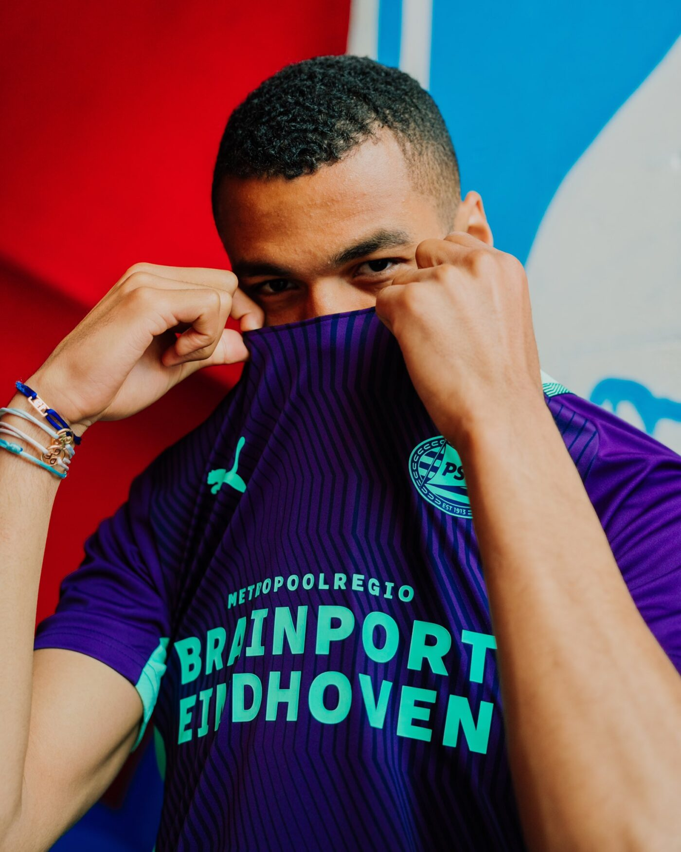 Maillot PSV Eindhoven 2021-2022 extérieur