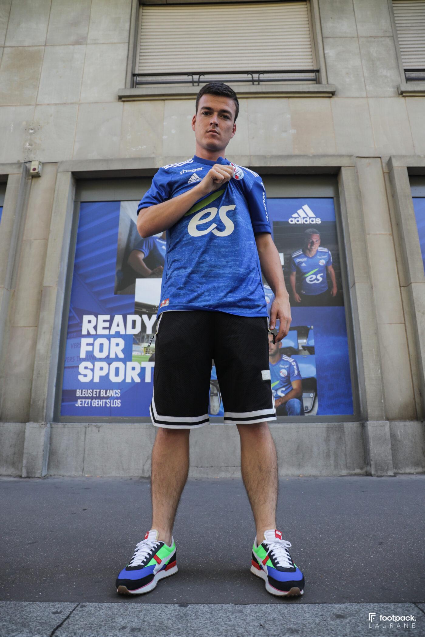 Maillot RC Strasbourg adidas