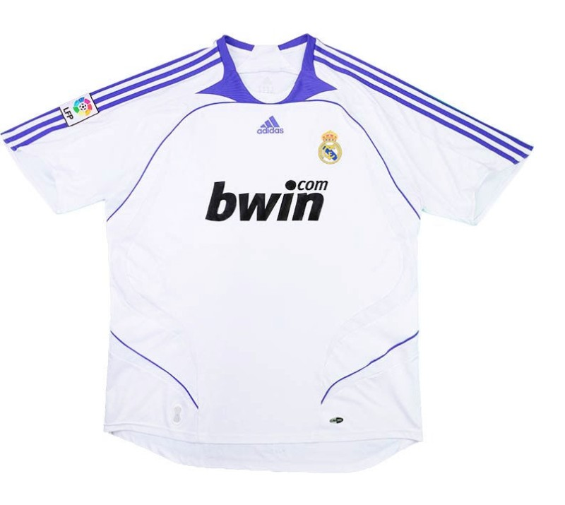 Maillot Real Madrid 2007-2008