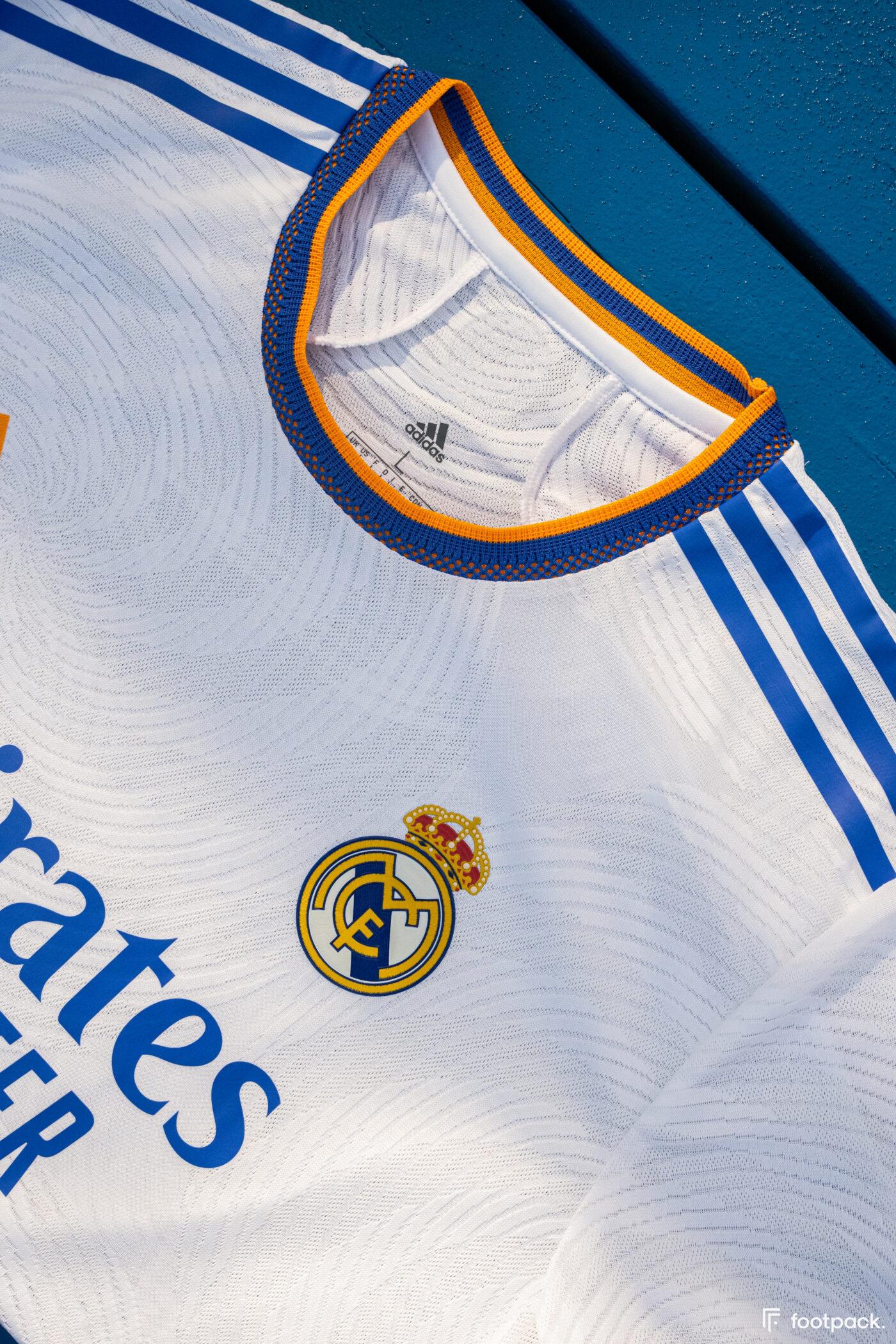 Maillot Real Madrid 2021-2022 domicile - footpack