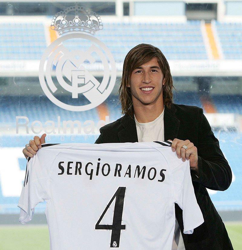 Maillot Sergio ramos Real Madrid