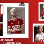 Les maillots du Standard de Liège 2021-2022 dévoilés par adidas