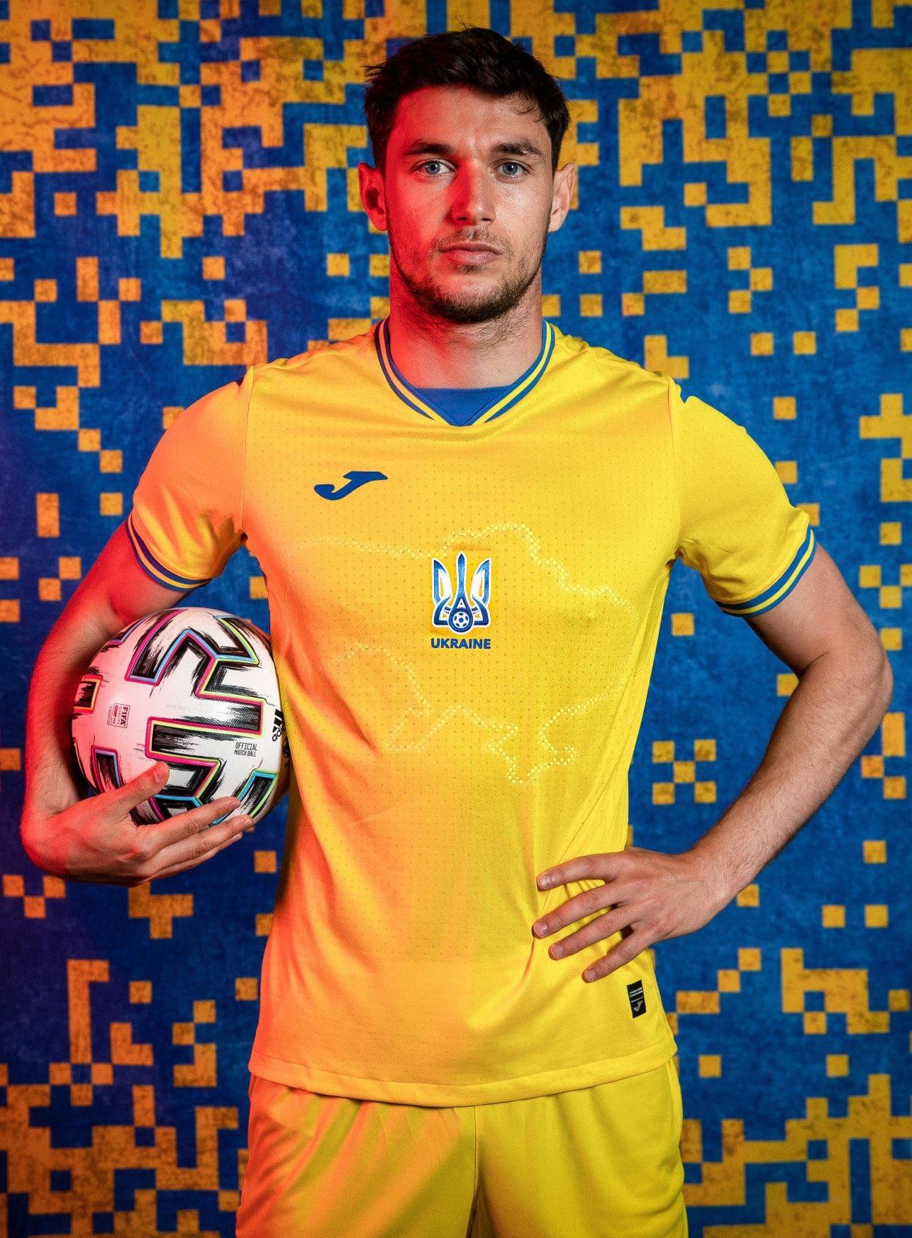 Maillot Ukraine Euro 2020