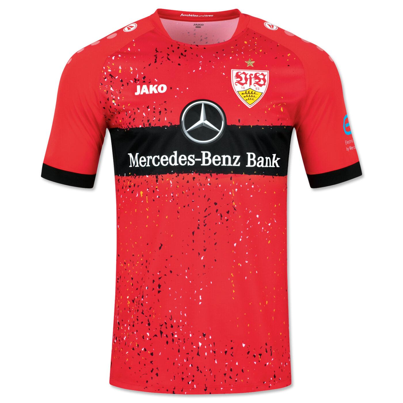 Maillot VfB Stuttgart 2021-2022 extérieur Jako