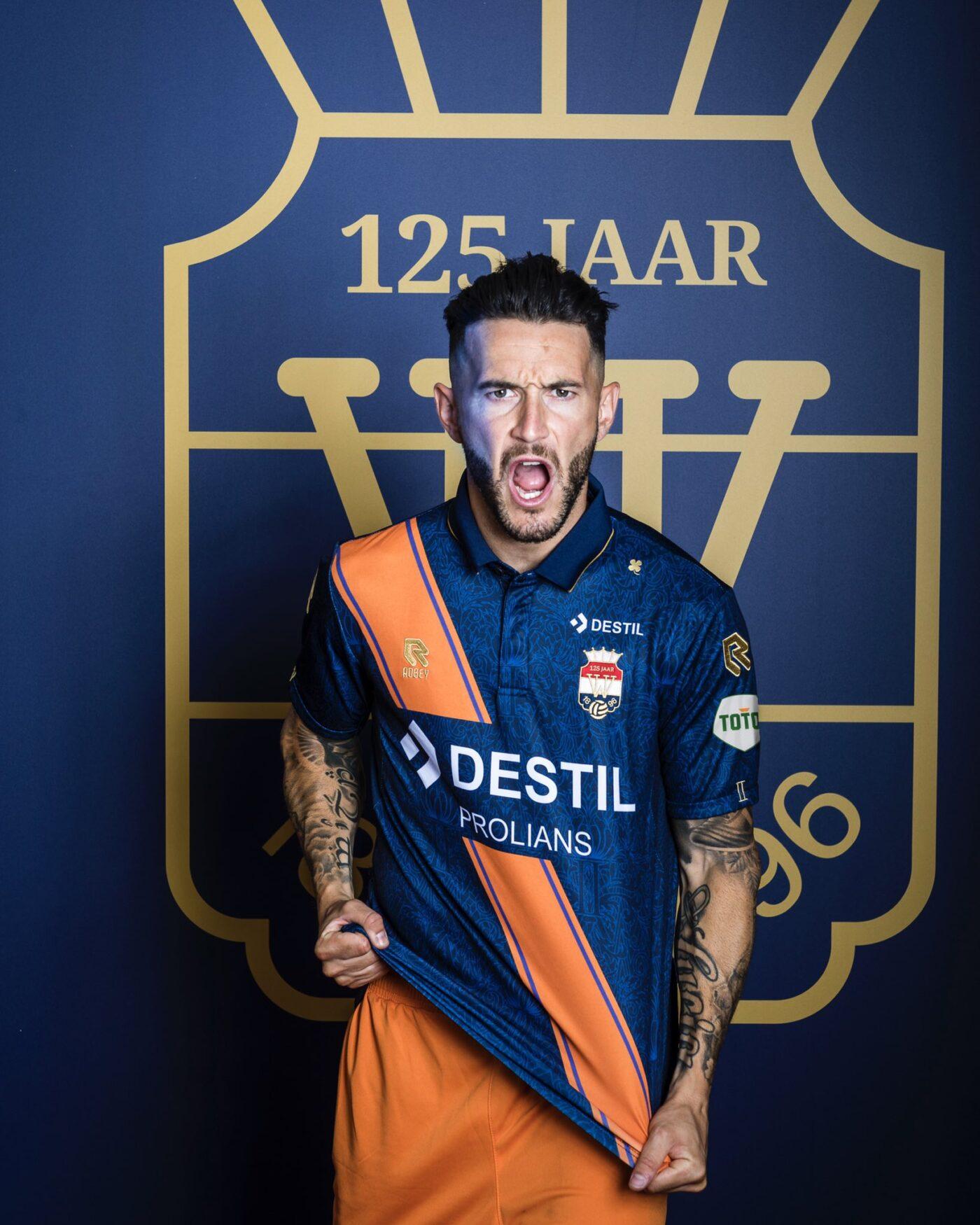 Maillot Willem II 125ème anniversaire 2021-2022