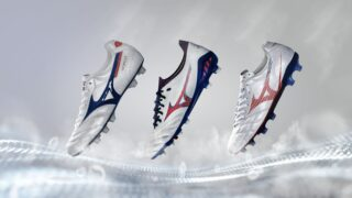 Image de l'article Mizuno présente un nouveau coloris pour ses chaussures, le pack «Next Wave»